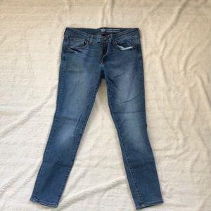 GAP legging skimmer low rise skinny jean